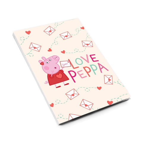 Love Peppa A6 Magnetic Notepad