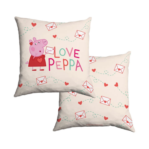 Love Peppa Cotton Cushion