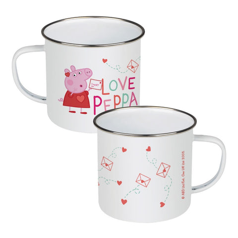 Love Peppa Enamel Mug