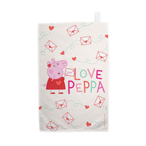 Love Peppa Tea Towel