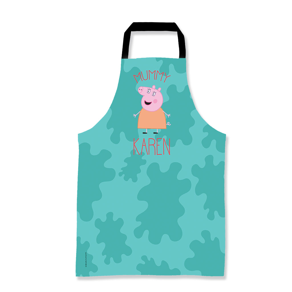 Mummy Pig Personalised Apron