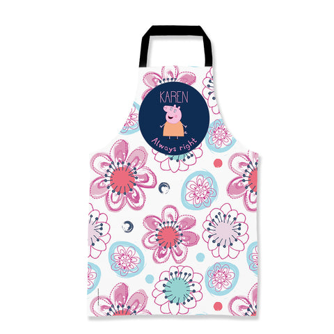 Always Right Mummy Pig Personalised Apron