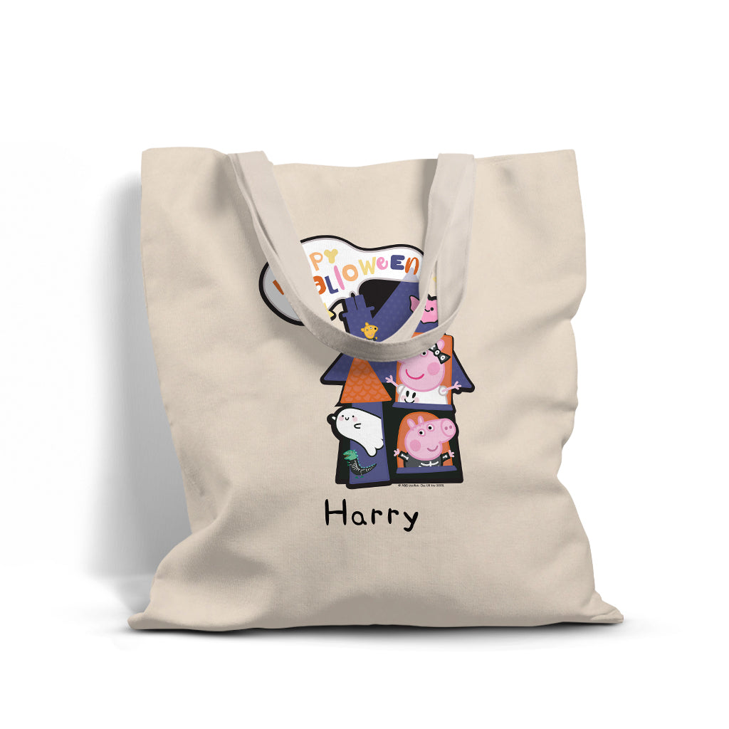 Happy Halloween Personalised Tote Bag