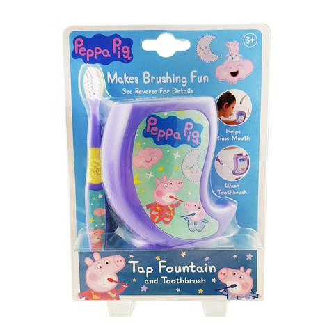 Peppa Pig Toothbrush & Tap Fountain