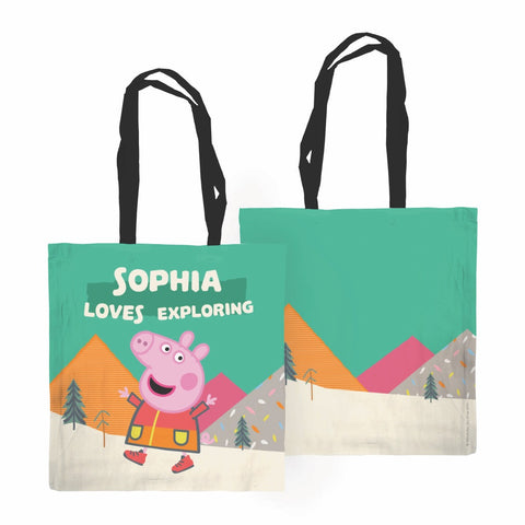 Loves Exploring Edge to Edge Tote Bag