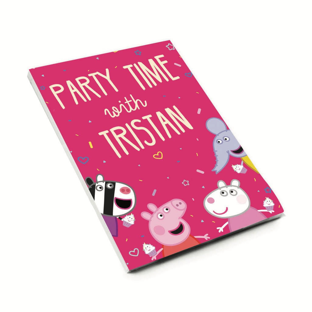 Party Time A6 Magnetic Notepad