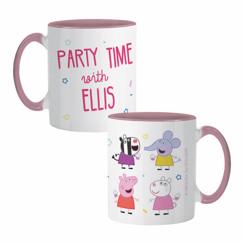 Party Time Coloured Insert Mug