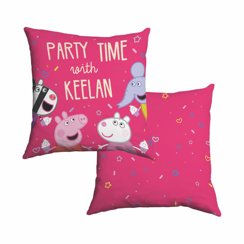 Party Time Cotton Cushion