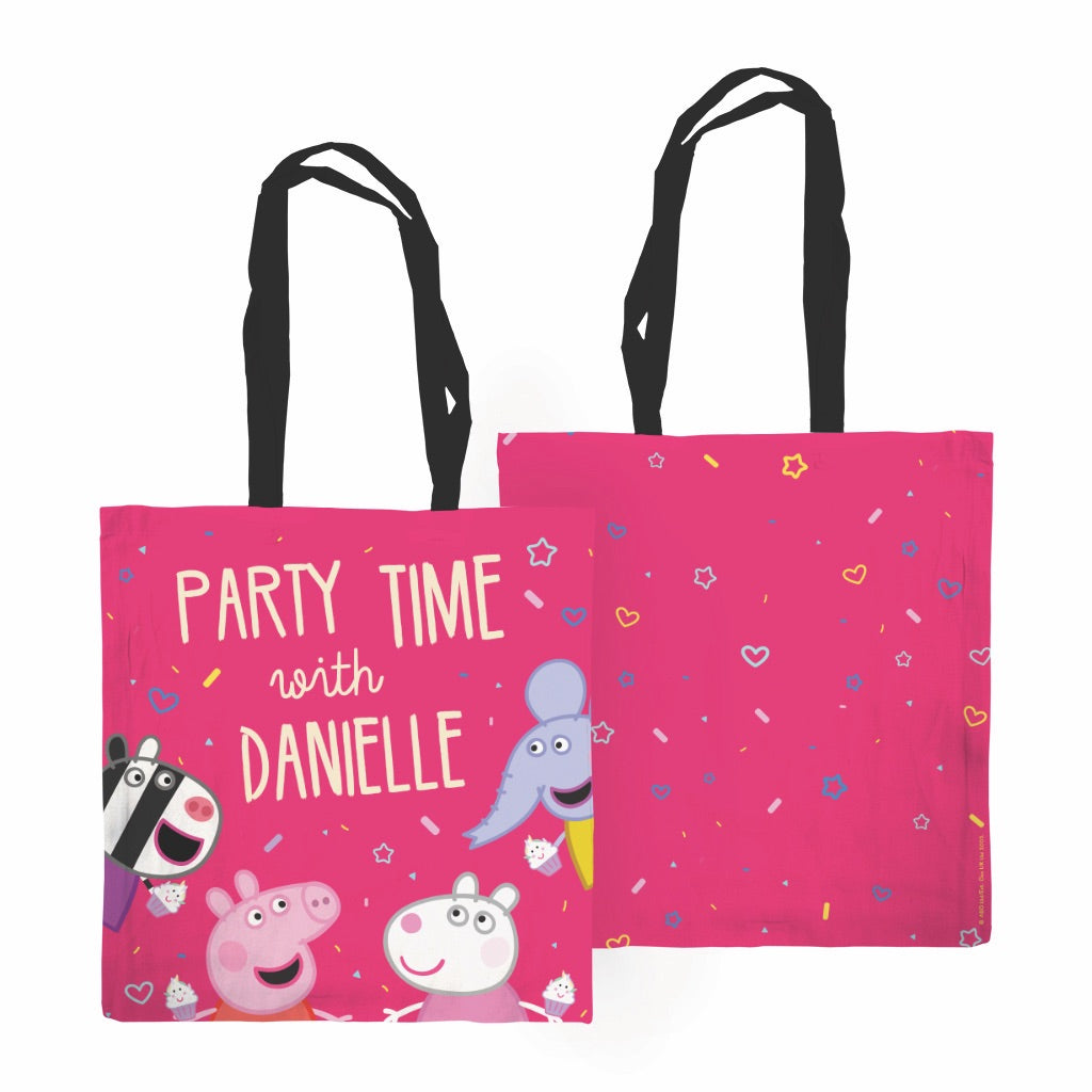 Party Time Edge to Edge Tote Bag