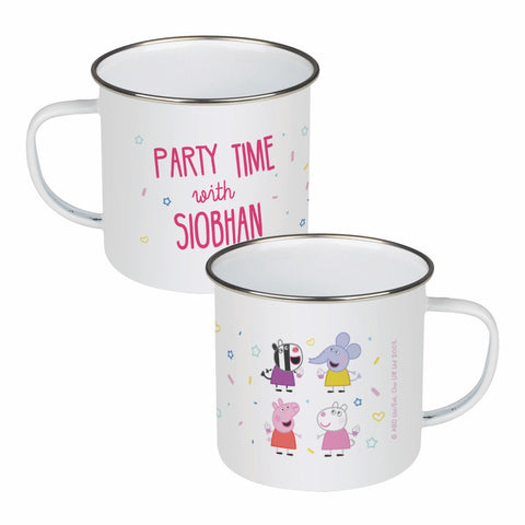 Party Time Enamel Mug
