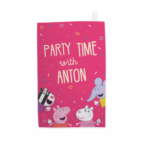 Party Time Tea Towel