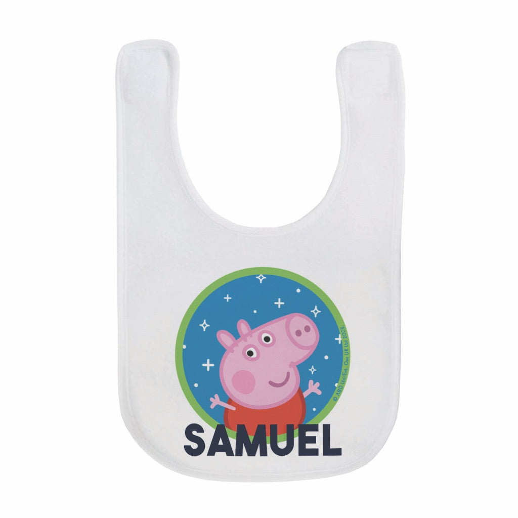 Space George Baby Bib