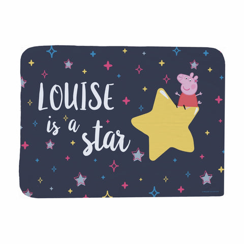 ...is a Star Baby Blanket