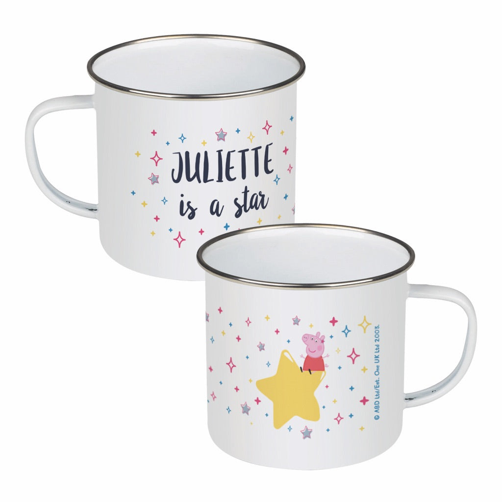 ...is a Star Enamel Mug
