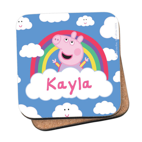 Rainbow Cloud Coaster