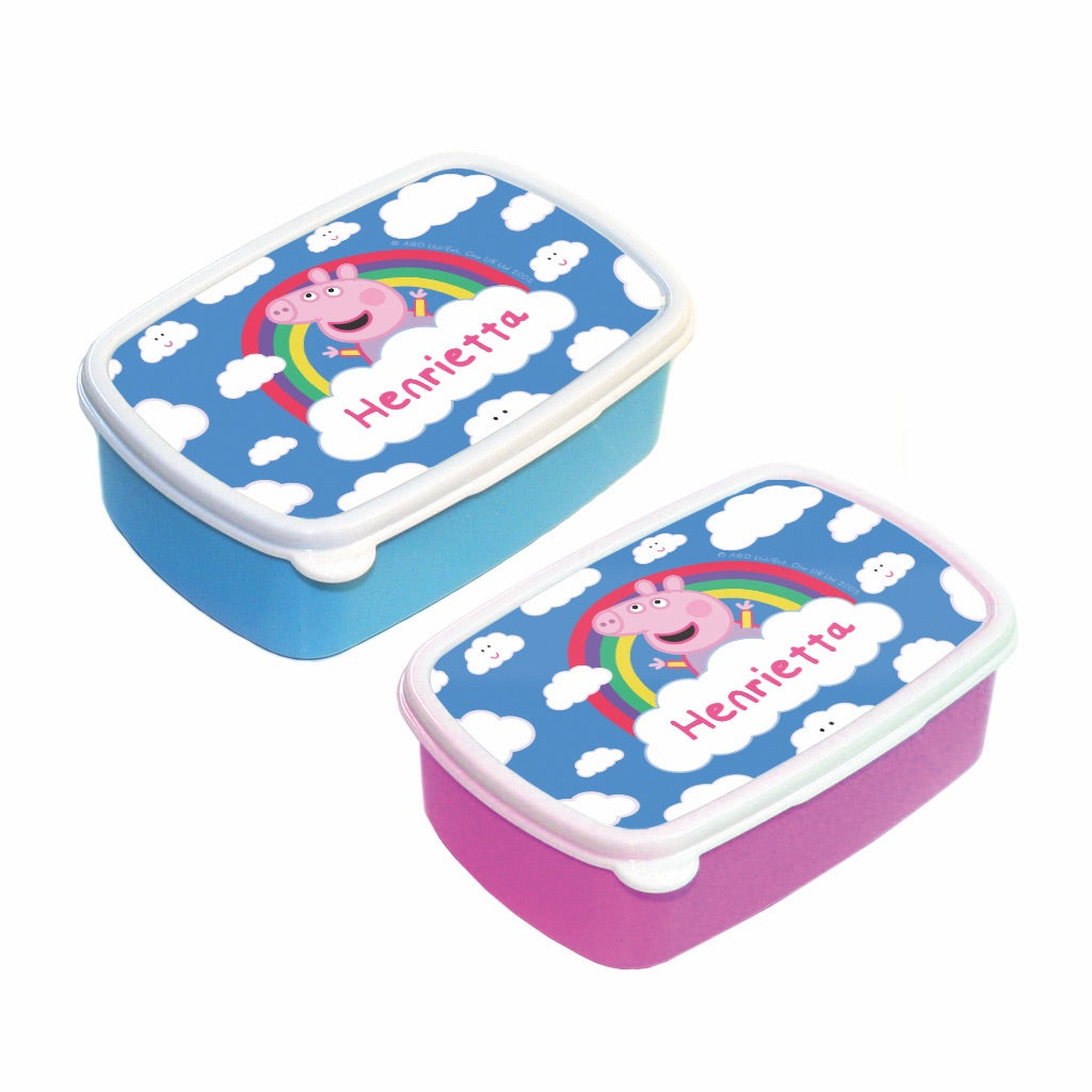 Rainbow Cloud Lunch Box