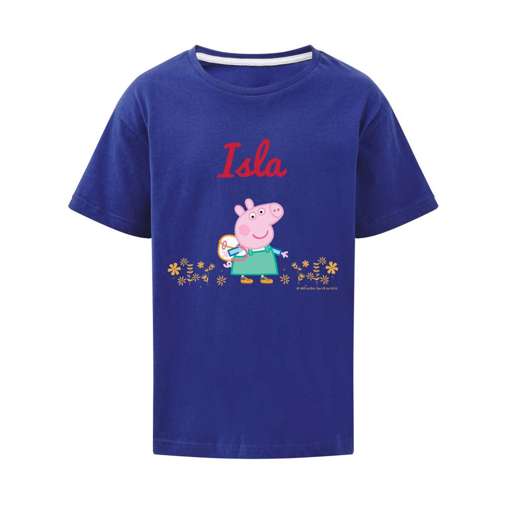 Flowers Personalised T Shirt