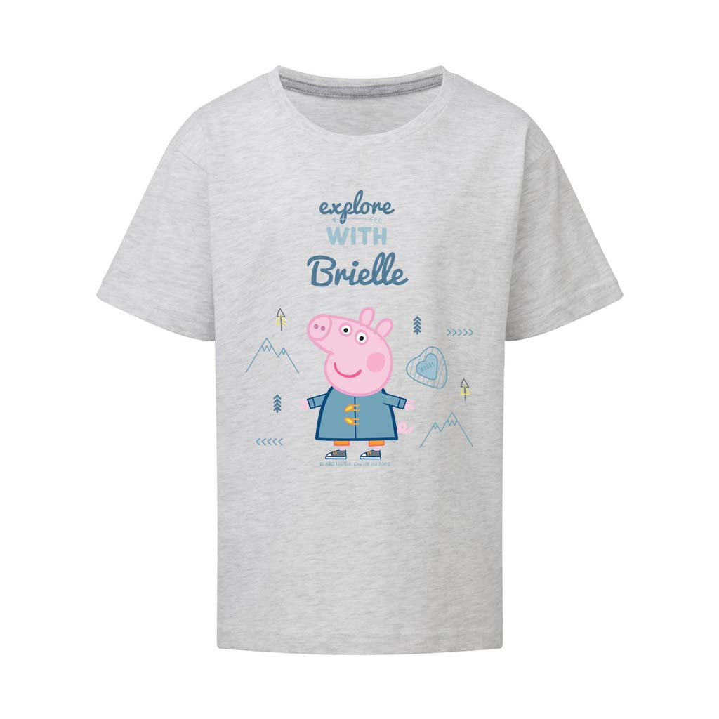 Explore With... Personalised T Shirt