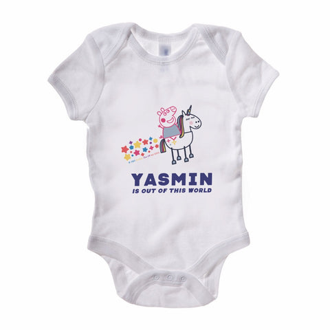 Out of This World Baby Grow Personalised Baby Grow