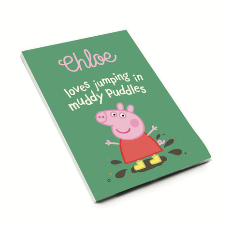 Muddy Puddles A6 Magnetic Notepad