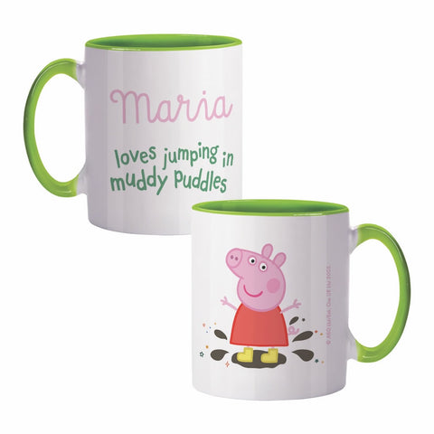 Muddy Puddles Coloured Insert Mug