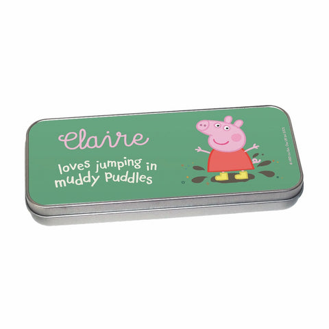 Muddy Puddles Pencil Tin