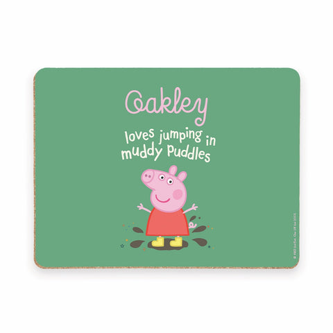 Muddy Puddles Placemat
