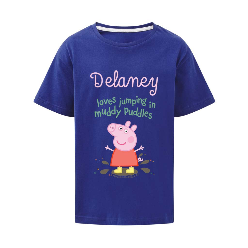 Muddy Puddles Personalised T Shirt