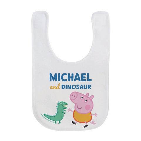 ...and Dinosaur Baby Bib