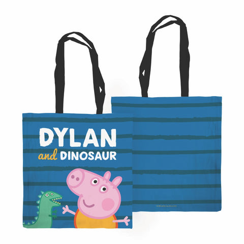 ...and Dinosaur Edge to Edge Tote Bag