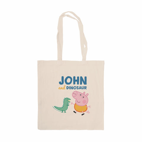 ...and Dinosaur Tote Bag