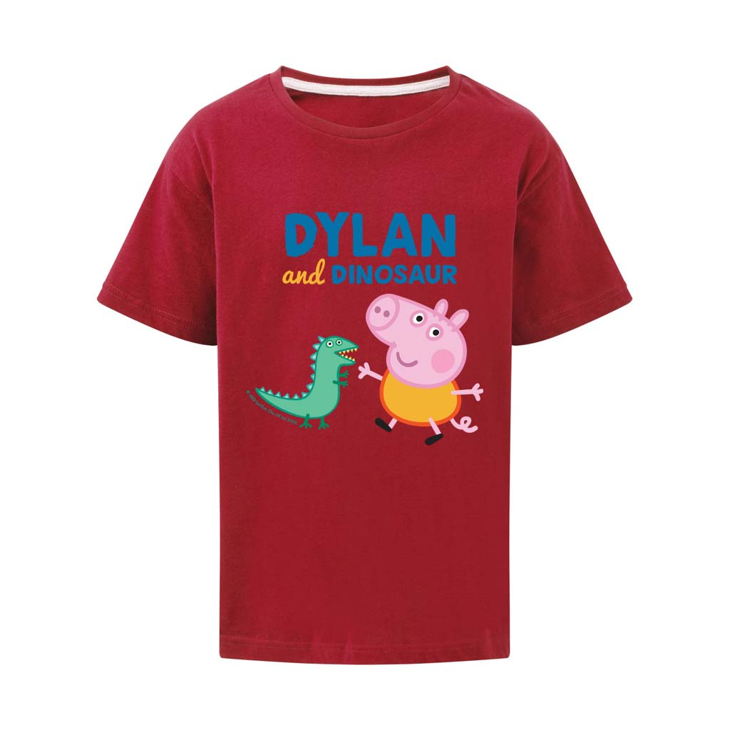 ...and Dinosaur Personalised T Shirt