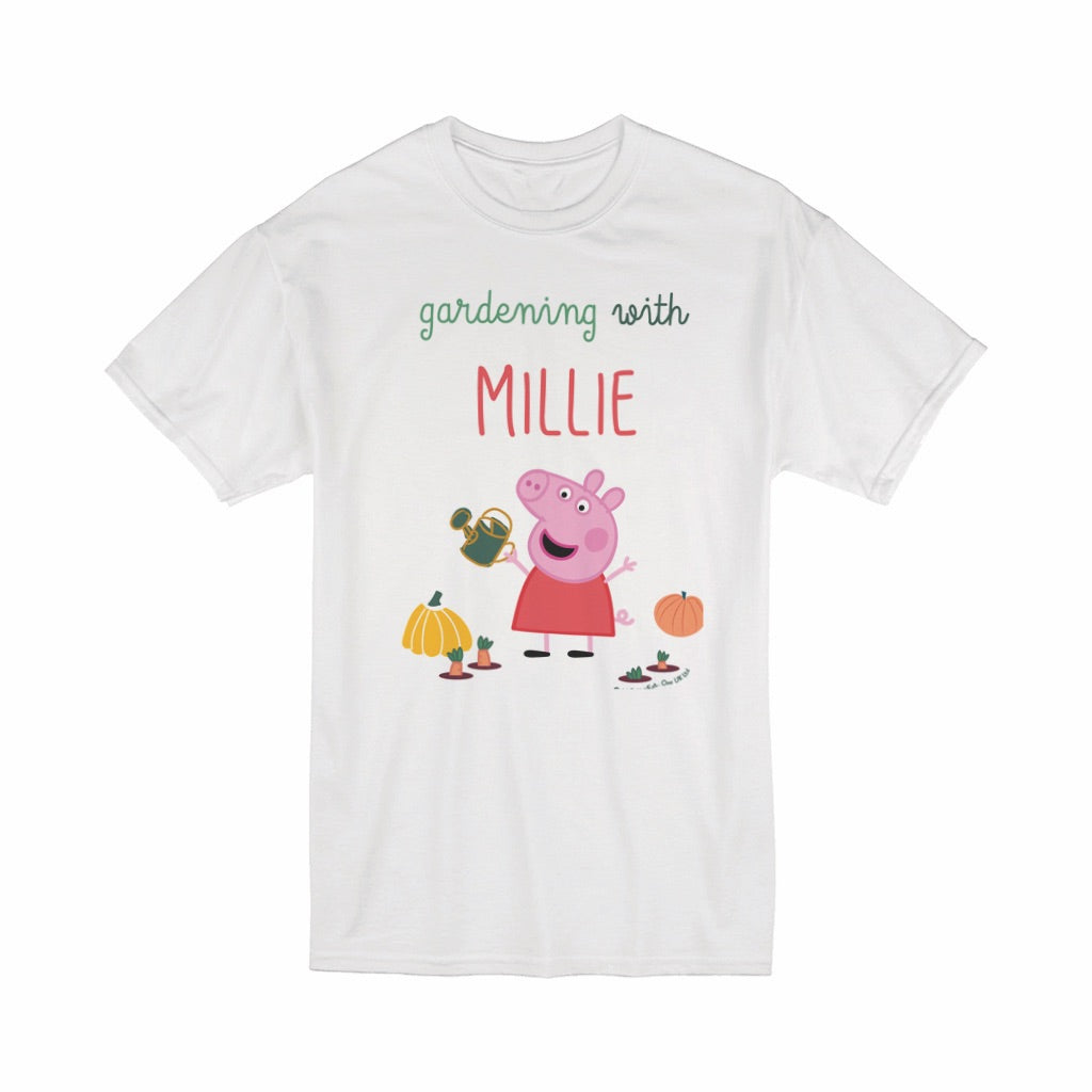 Gardening With... T-Shirt Personalised T-Shirt