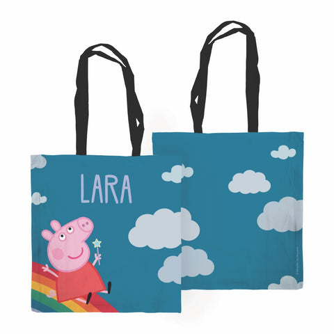 Rainbow Slide Edge to Edge Tote Bag