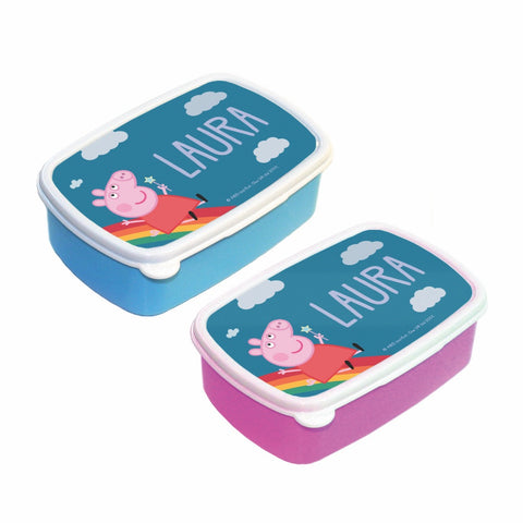 Rainbow Slide Lunch Box