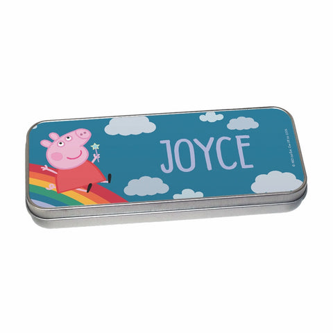 Rainbow Slide Pencil Tin