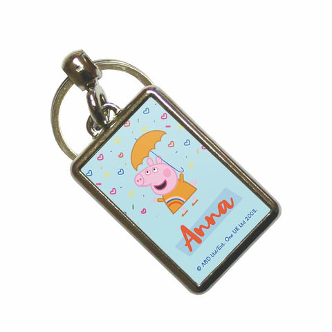 Umbrella Metal Keyring