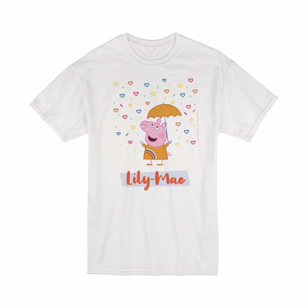 Umbrella T-Shirt Personalised T-Shirt
