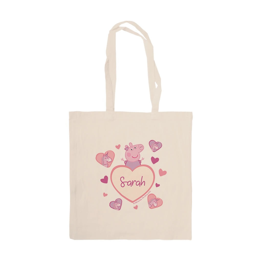 Unicorn Hearts Tote Bag