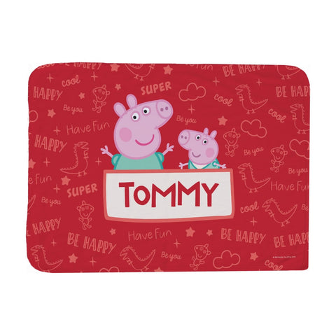 Peppa and George Baby Blanket
