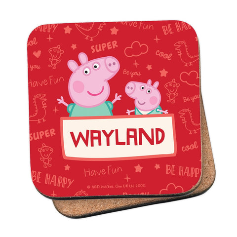 Peppa and George Coaster