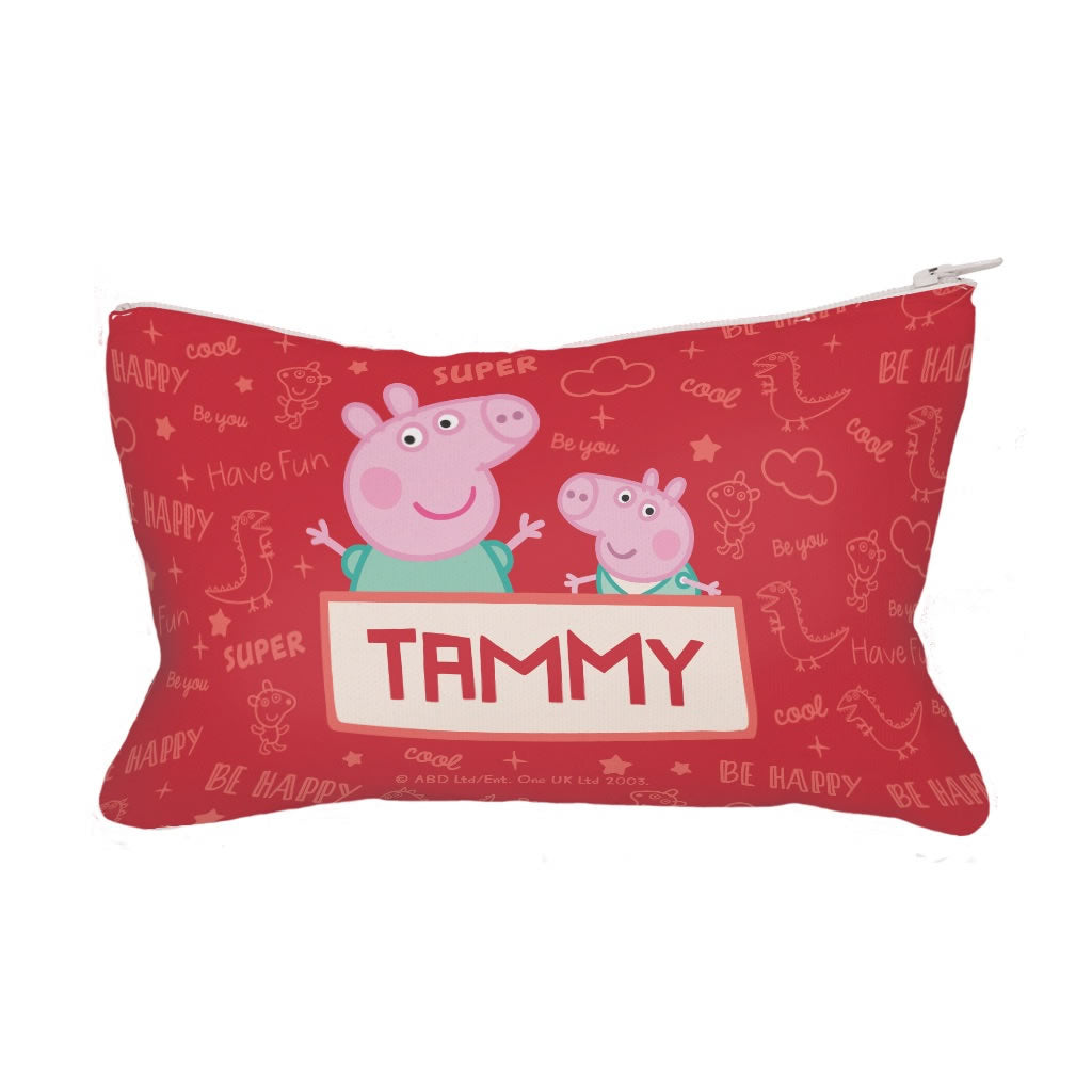 Peppa and George Fabric Pencil Case