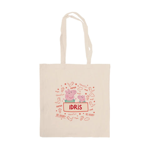 Peppa and George Tote Bag
