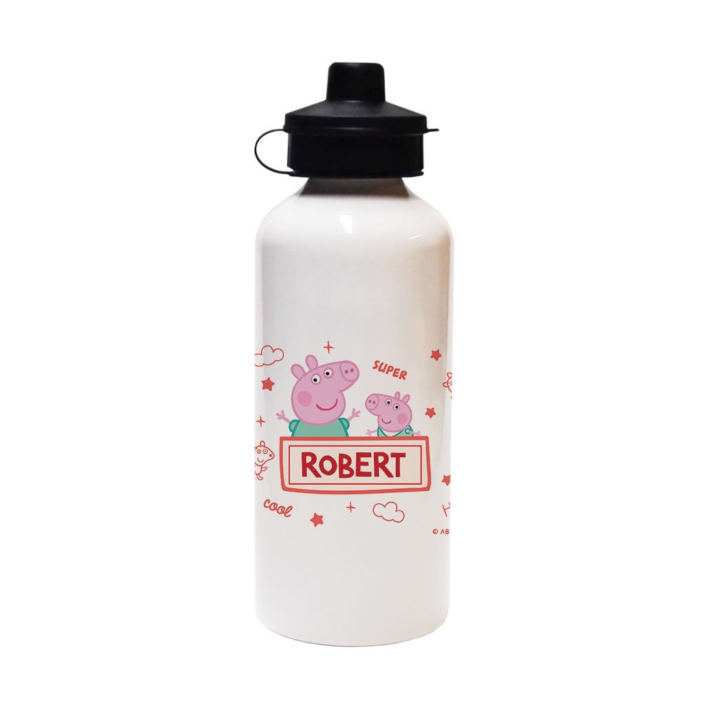 Peppa and George Water Bottle