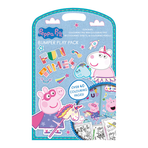 Peppa pig carry along Pencil Case /& Play-pack set