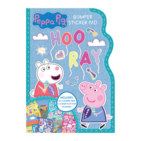 Peppa Pig Bumper Sticker Pad