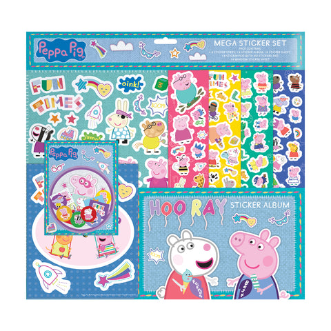 Peppa Pig Mega Sticker Set