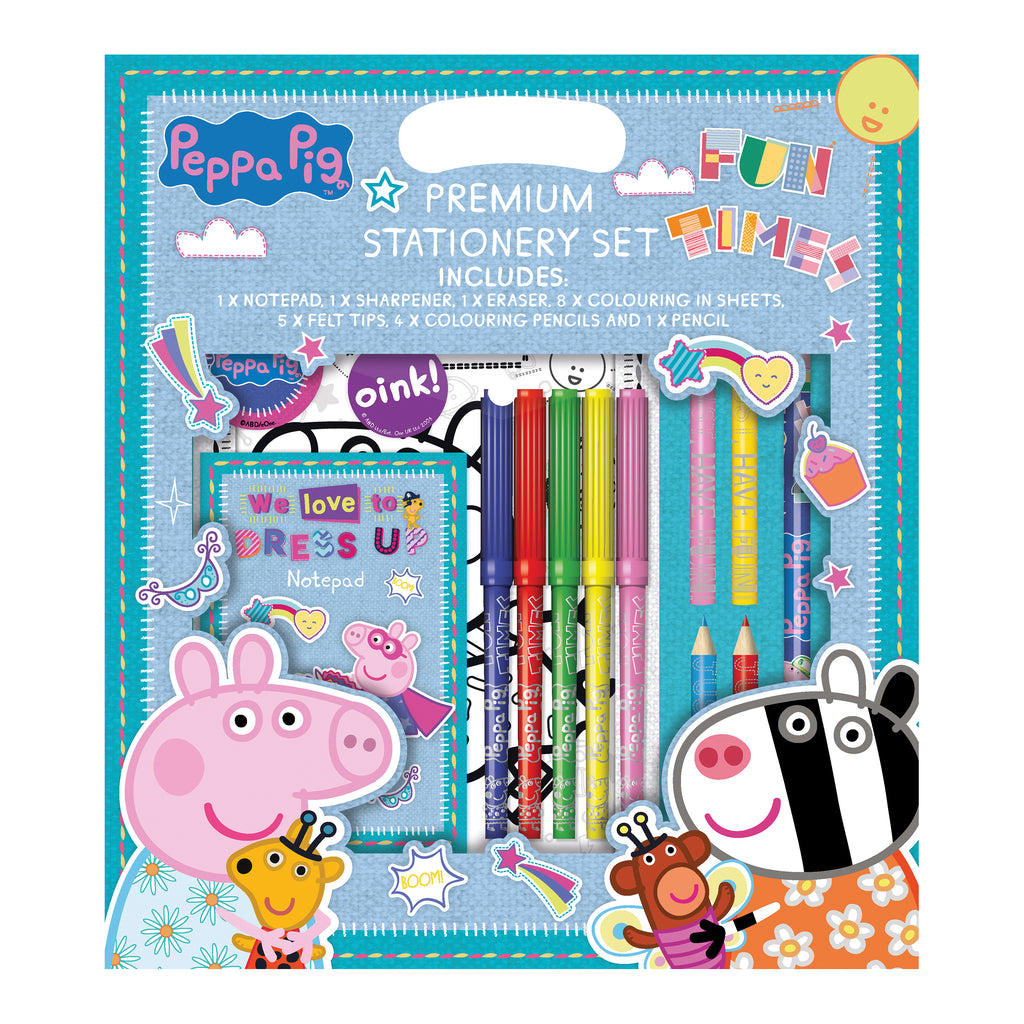 Peppa Pig Premium Stationery Set