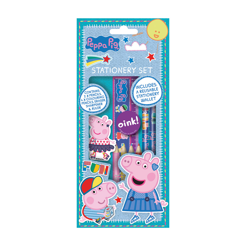 Peppa Pig Stationary Set In Foil Bag