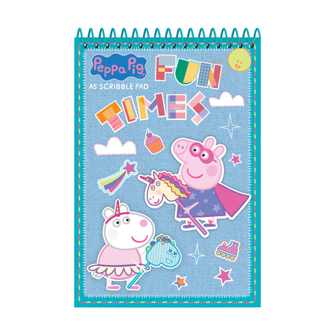 Peppa Pig A5 Soft Cover Scribble Pad